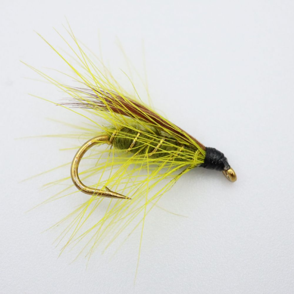 Olive Dabbler Fishing Fly